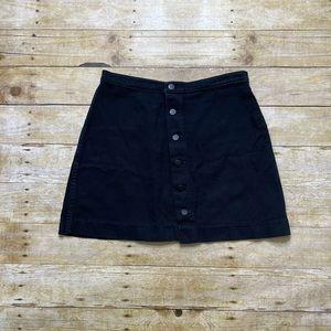 American Apparel denim/jean skirt